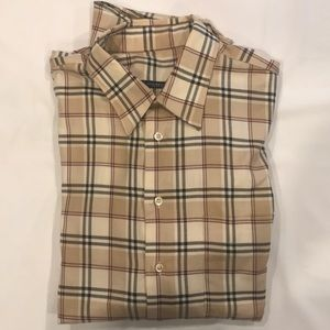 Authentic Burberry long sleeve button down